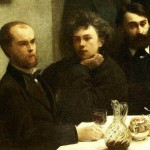 Verlaine & Rimbaud - Henri Fantin-Latour