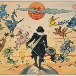 Henriot - Cyrano et la Lune