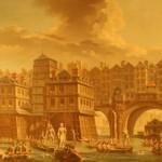 La Joute des mariniers entre le pont Notre Dame et le pont au change - Raguenet