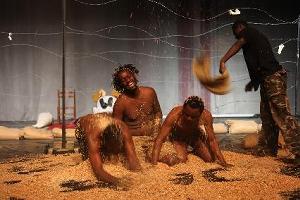 «Le Socle des vertiges» de Dieudonné Niangouna aux Amandiers