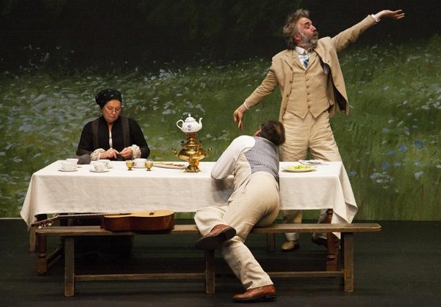 «Oncle Vania» de Tchekhov aux Amandiers