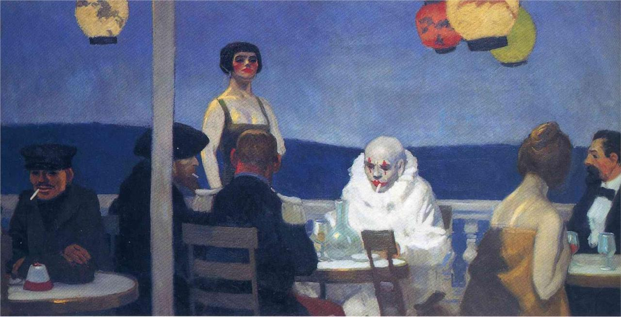 Hopper - Blue Night