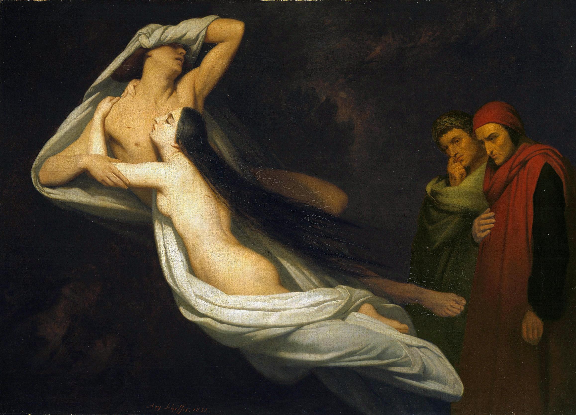 Ary Scheffer - Paolo et Francesca