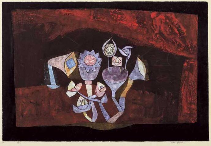 Fleurs de grotte - Klee
