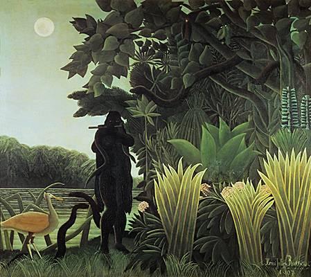 La Charmeuse de serpents - Douanier Rousseau