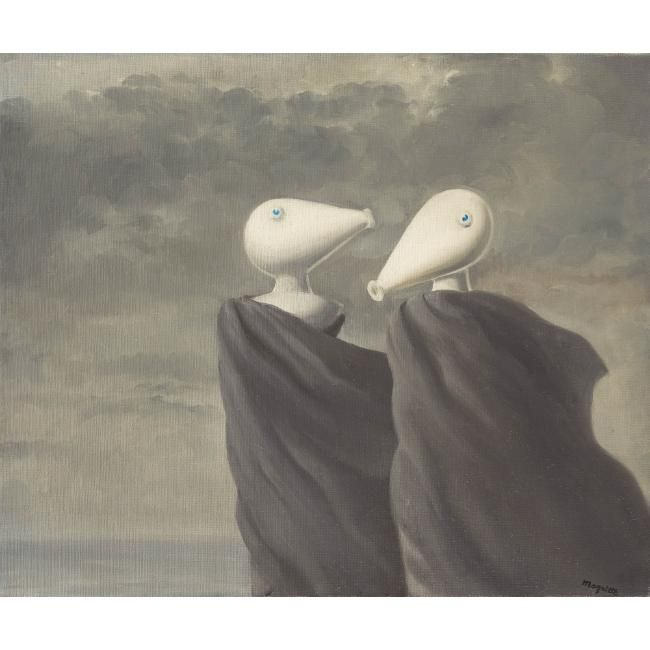 Le Colloque sentimental, Magritte