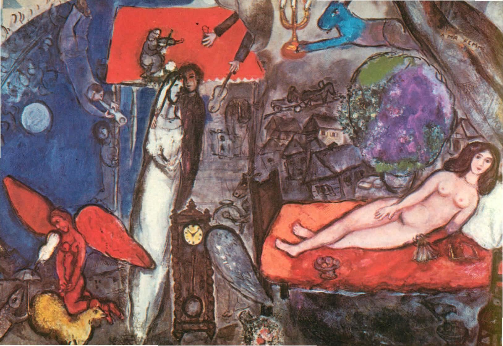 Chagall - A ma femme