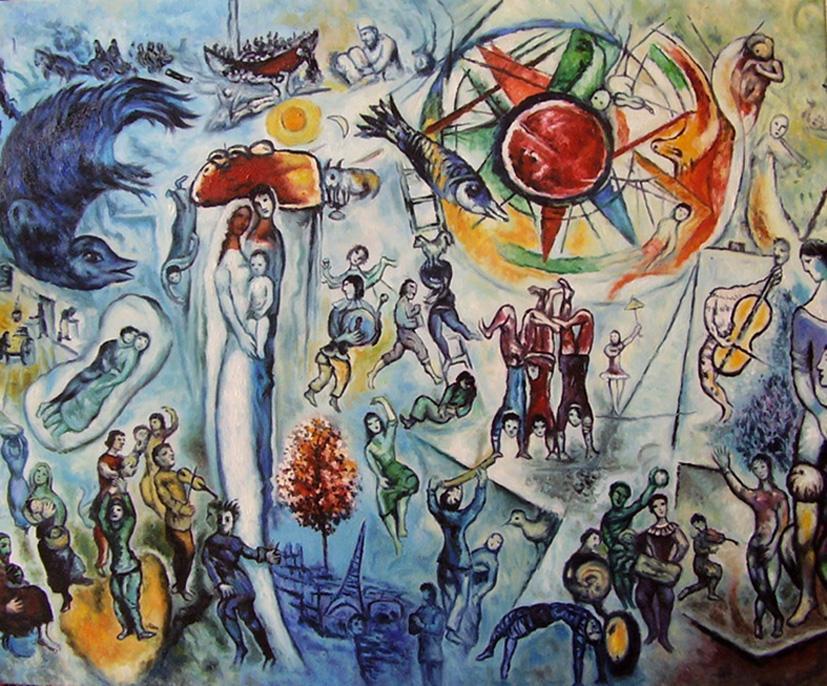 Chagall - La Vie