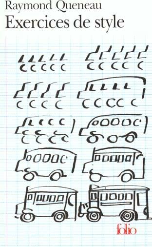 Exercices de style - Queneau