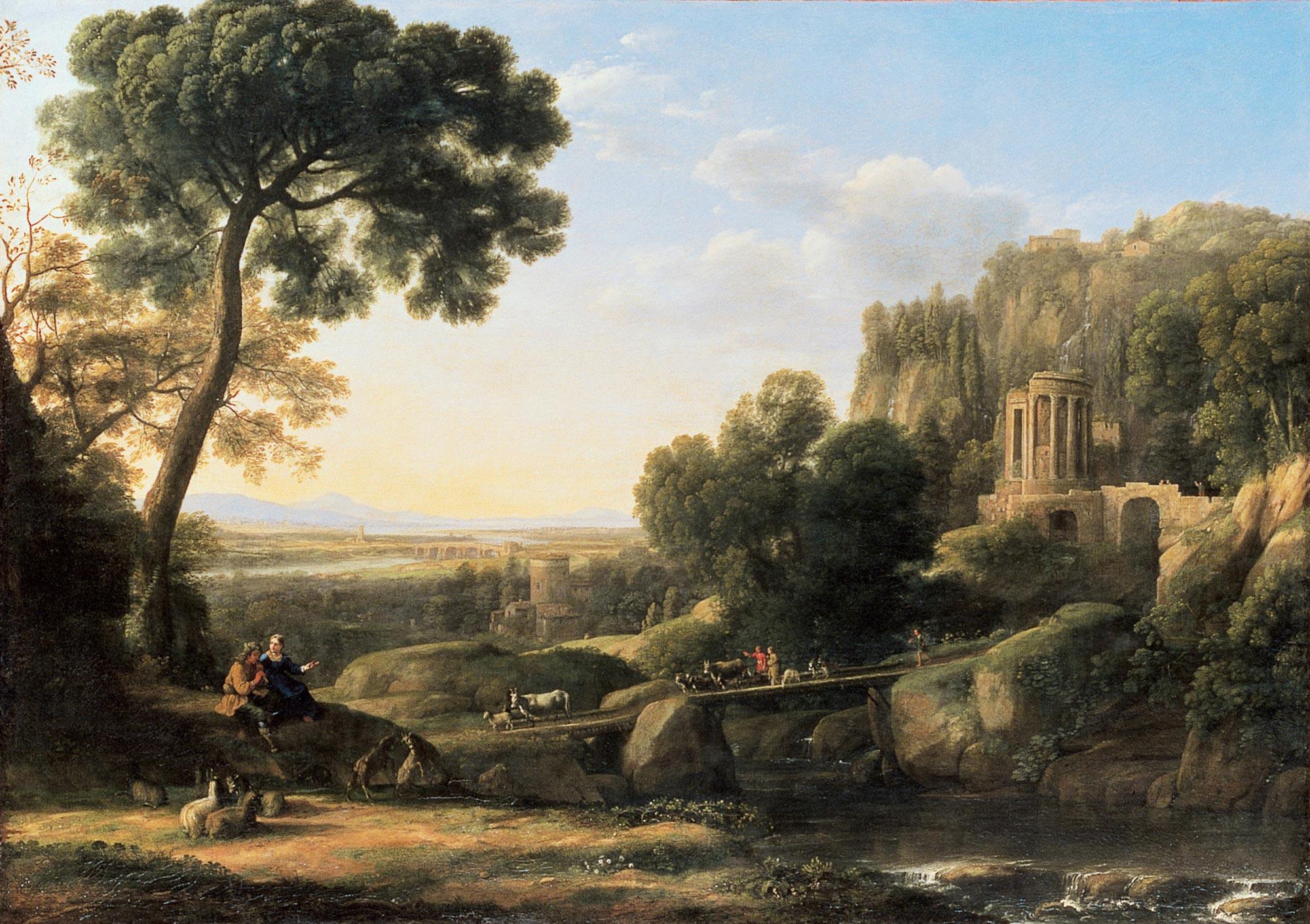 Claude Lorrain - Paysage pastoral