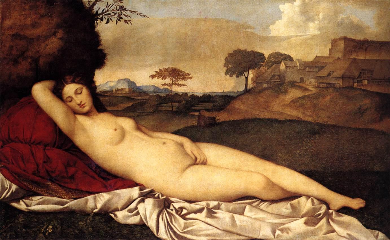 Giorgione - Vénus endormie