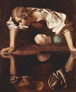 Narcisse - Le Caravage