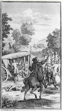 Marivaux - L'attaque du carrosse - Schley utpictura