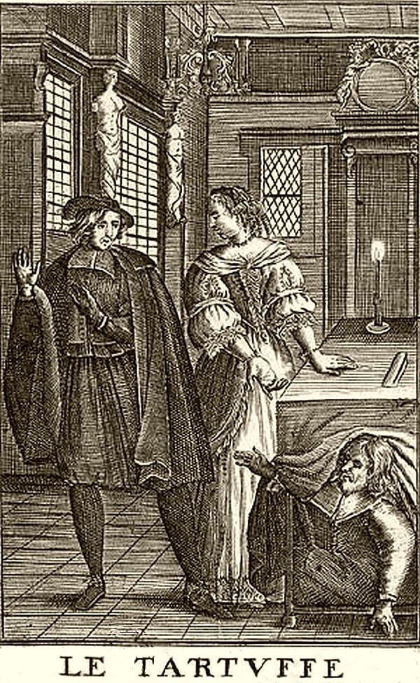Tartuffe - gravure
