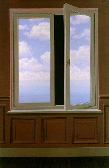 magritte - La Lunette d'approche