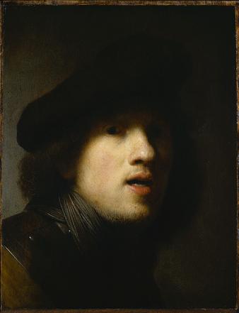 Rembrandt - Autoportrait, 1639
