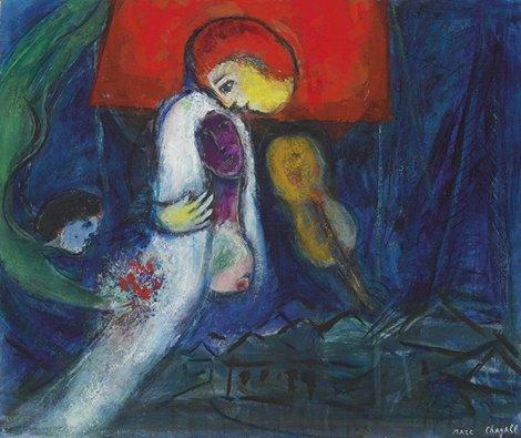 Chagall - La Mariée