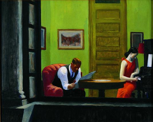 Hopper - A Room in New-York