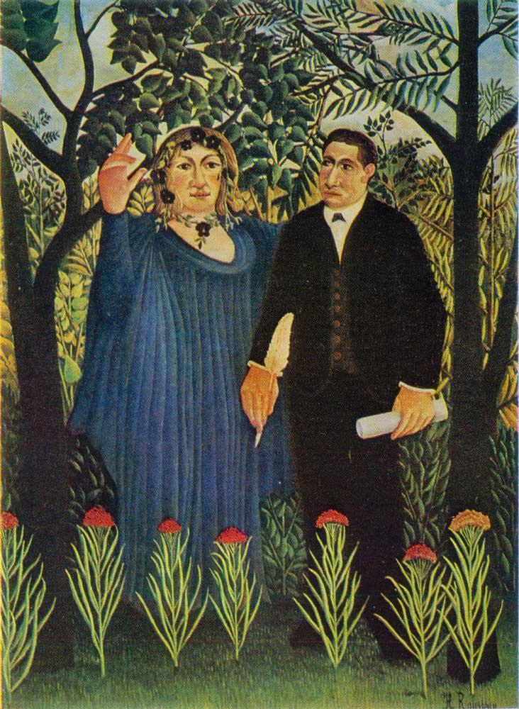 Rousseau - Le Poète et sa muse