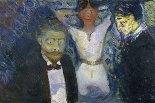 Munch - La Jalousie