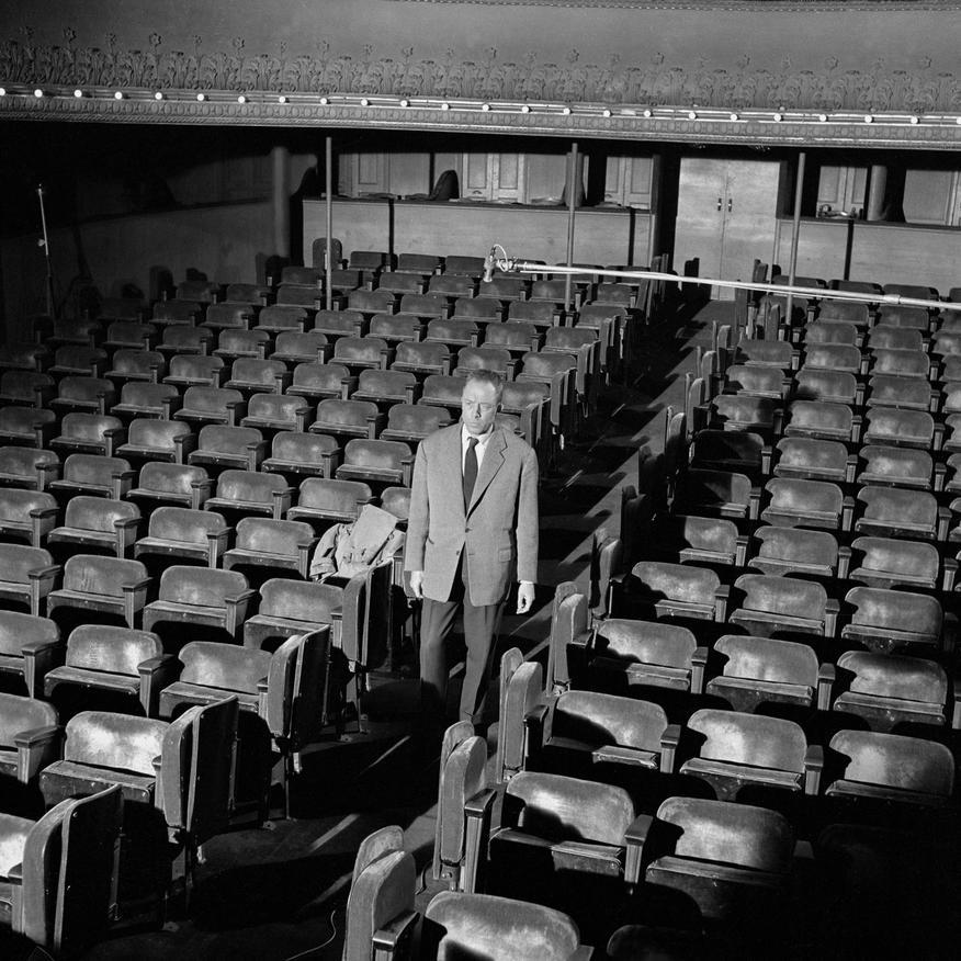 Camus - tournage 20:04:1959